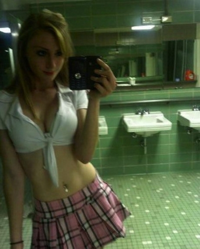 sexy and cute school girl