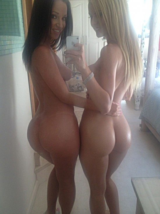 Two hot asses