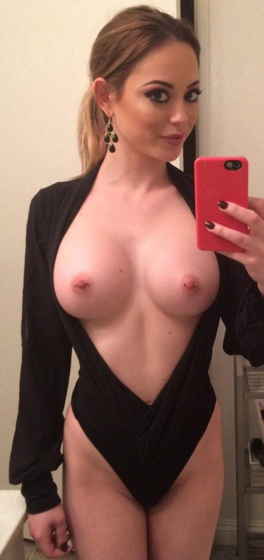 Hot boobs with piercing